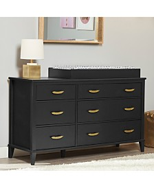 Monarch Hill Hawken 6 Drawer Changing Table