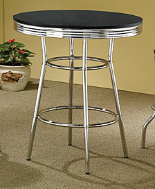 Anthony Contemporary Bar-Height Table