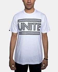 Sean John Men's Unite Rhinestone Graphic T-Shirt