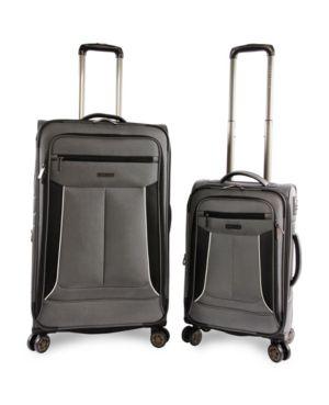 PERRY ELLIS | Perry Ellis Viceroy Ii 2-Piece Luggage Set | Goxip