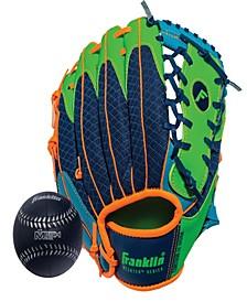 """9.5"""" Teeball Meshtek Glove Ball Set - Right Handed"""