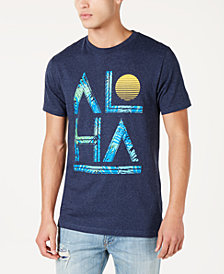 Men's Aloha Foliage Graphic T-Shirt