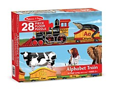 Alphabet Train Floor Puzzle (28 Pc)