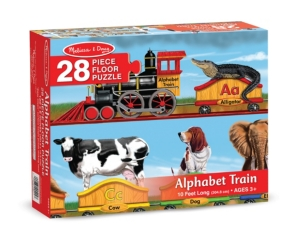 Alphabet Train Floor Puzzle (28 Pc)