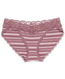 Jessica Simpson Maternity Lace-Trim Briefs