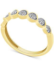 Diamond Fashion Band (1/5 ct. t.w.) in 10k Gold