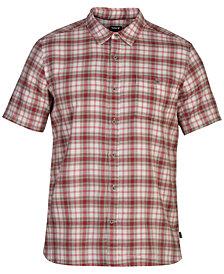 Hurley Men's Ranger Plaid Shirt