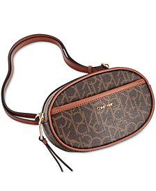 Calvin Klein Hayden Signature Round Belt Bag