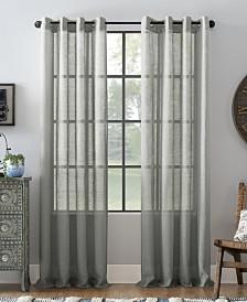 Archaeo Slub Textured Linen Blend Grommet Top Curtain Collection