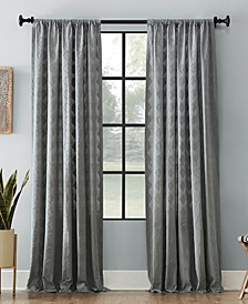 Diamond Fray Cotton Curtain Collection