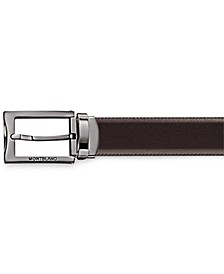Men's Business Line Reversible Leather Belt