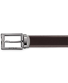 Montblanc Men's Business Line Reversible Leather Belt