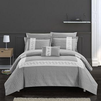 Chic Home Titian 8 Piece King Comforter Set