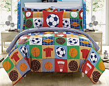 Chic Home Shiloh 6 Piece Twin Bed In a Bag Comforter Set
