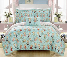 Chic Home Woodland 8 Piece Full Bed In a Bag Comforter Set