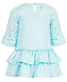 First Impressions Baby Girls Printed Tiered Ruffle Dress, Created for Macy's