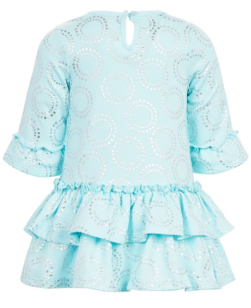 aab832b8c14f First Impressions Baby Girls Printed Tiered Ruffle Dress