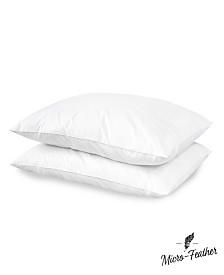 SensorPEDIC  2 Pack Micro Feather Plush Pillows