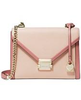 b6823ba745dc6 MICHAEL Michael Kors Whitney Bicolor Leather Shoulder Bag