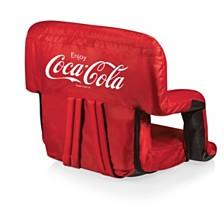 Oniva™ by Picnic Time Coca-Cola Ventura Seat Portable Recliner Chair