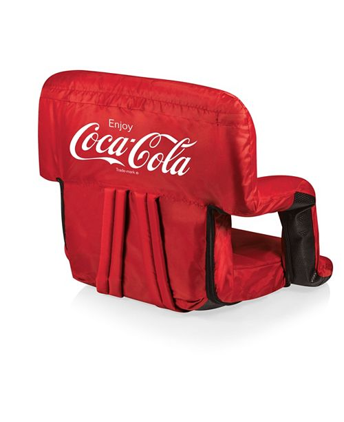 Picnic Time Oniva™ by Coca-Cola Ventura Seat Portable Recliner Chair