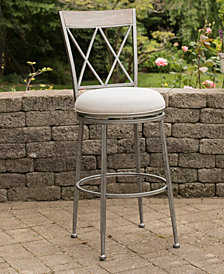 Indoor / Outdoor Stewart Swivel Bar Stool
