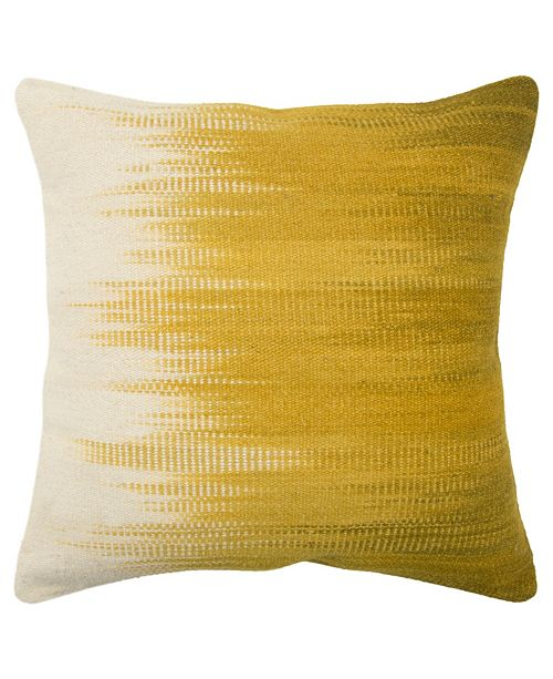 "Rizzy Home 20"" x 20"" Striped Down Filled Pillow"