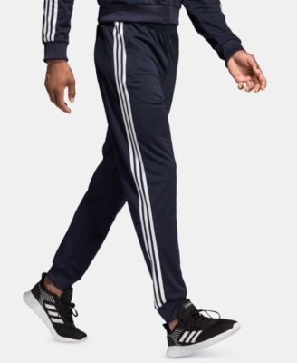 Men's Essentials 3-Stripes Tapered Tricot Joggers