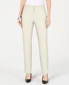 Alfani Petite Modern Straight-Leg Pants, Created for Macy's