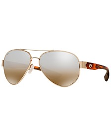 Costa Del Mar Polarized Sunglasses, SOUTH POINT 59P