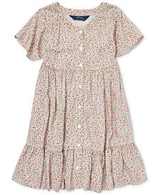 Polo Ralph Lauren Toddler Girls Woven Floral-Print Dress