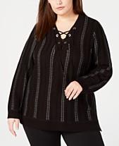65c75ab518 Calvin Klein Womens Plus Size Sweaters - Macy s