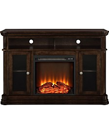 Ameriwood Home Graystone Electric Fireplace Tv Console For Tvs Up To 50 Inches