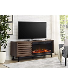 Orchard Point Fireplace Tv Console For Tvs Up To 60 Inches Wide