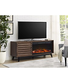 Ameriwood Home Orchard Point Fireplace Tv Console For Tvs Up To 60 Inches Wide