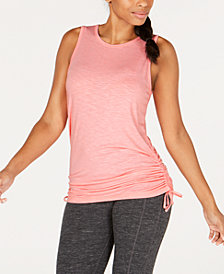 Ideology Side-Tie Tank Top, Created for Macy's