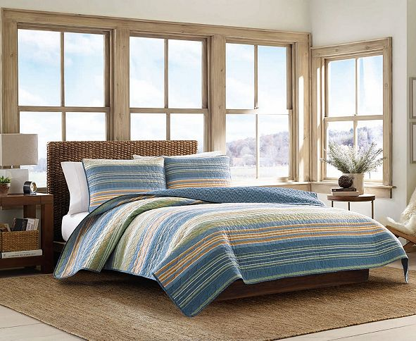 Eddie Bauer Yakima Valley Persimmon King Quilt Set