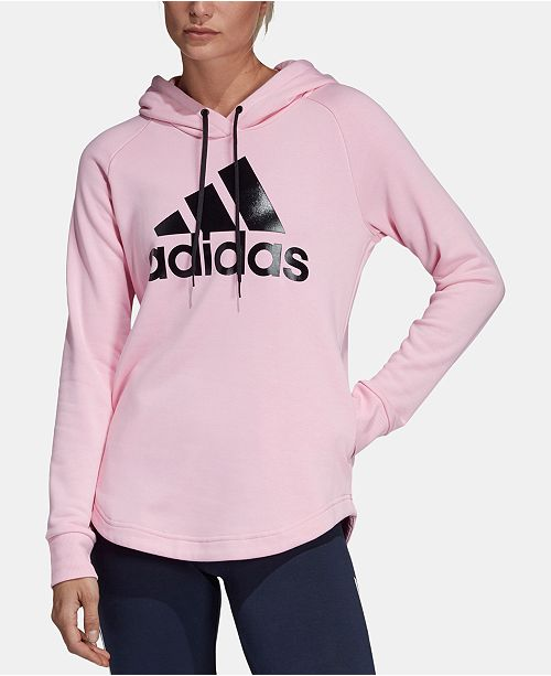 842e3eed4e23bf adidas Must Have French Terry Logo Hoodie & Reviews - Tops - Women ...
