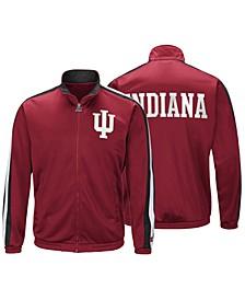 Men's Indiana Hoosiers Challenger Full-Zip Track Jacket