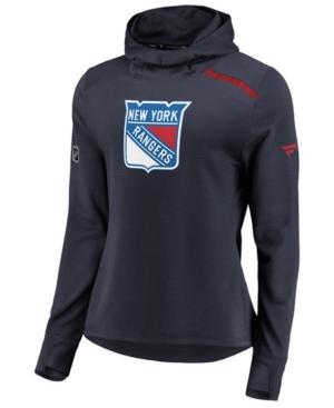 Women's New York Rangers Authentic Pro Rinkside Hoodie