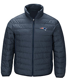 G-III Sports Men's New England Patriots Playoff Quilted Polyfill Jacket