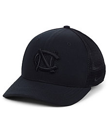 Nike North Carolina Tar Heels Aerobill Black Swoosh Cap
