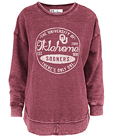 Pressbox Women's Oklahoma Sooners Vintage Wash Sweatshirt