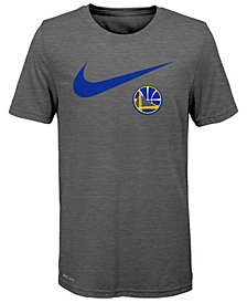 Nike Golden State Warriors Swoosh Team T-Shirt 2018, Big Boys (8-20)