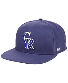 '47 Brand Colorado Rockies Autumn Snapback Cap