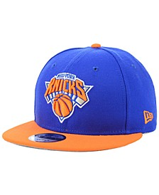 New York Knicks Basic 2 Tone 9FIFTY Snapback Cap