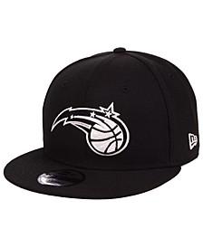 Orlando Magic Black White 9FIFTY Snapback Cap