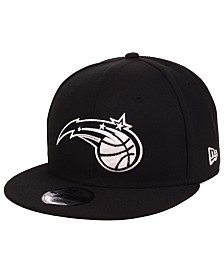 New Era Orlando Magic Black White 9FIFTY Snapback Cap