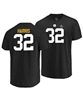 Majestic Men s Franco Harris Pittsburgh Steelers Hall of Fame Eligible  Receiver Triple Peak T-Shirt e8600cef9