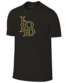Men's Long Beach State 49ers Black Out Dual Blend T-Shirt
